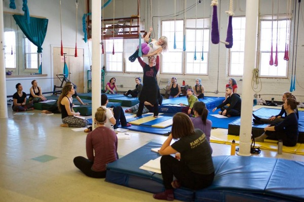 Aerial Teacher Trainings